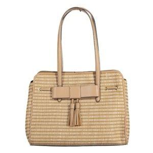 Nanette Lepore Straw Shoulder Bag